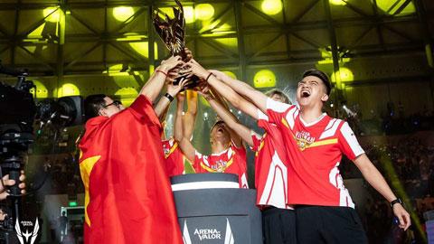 Các game thủ  Việt Nam giành ngôi vô địch AWC 2019