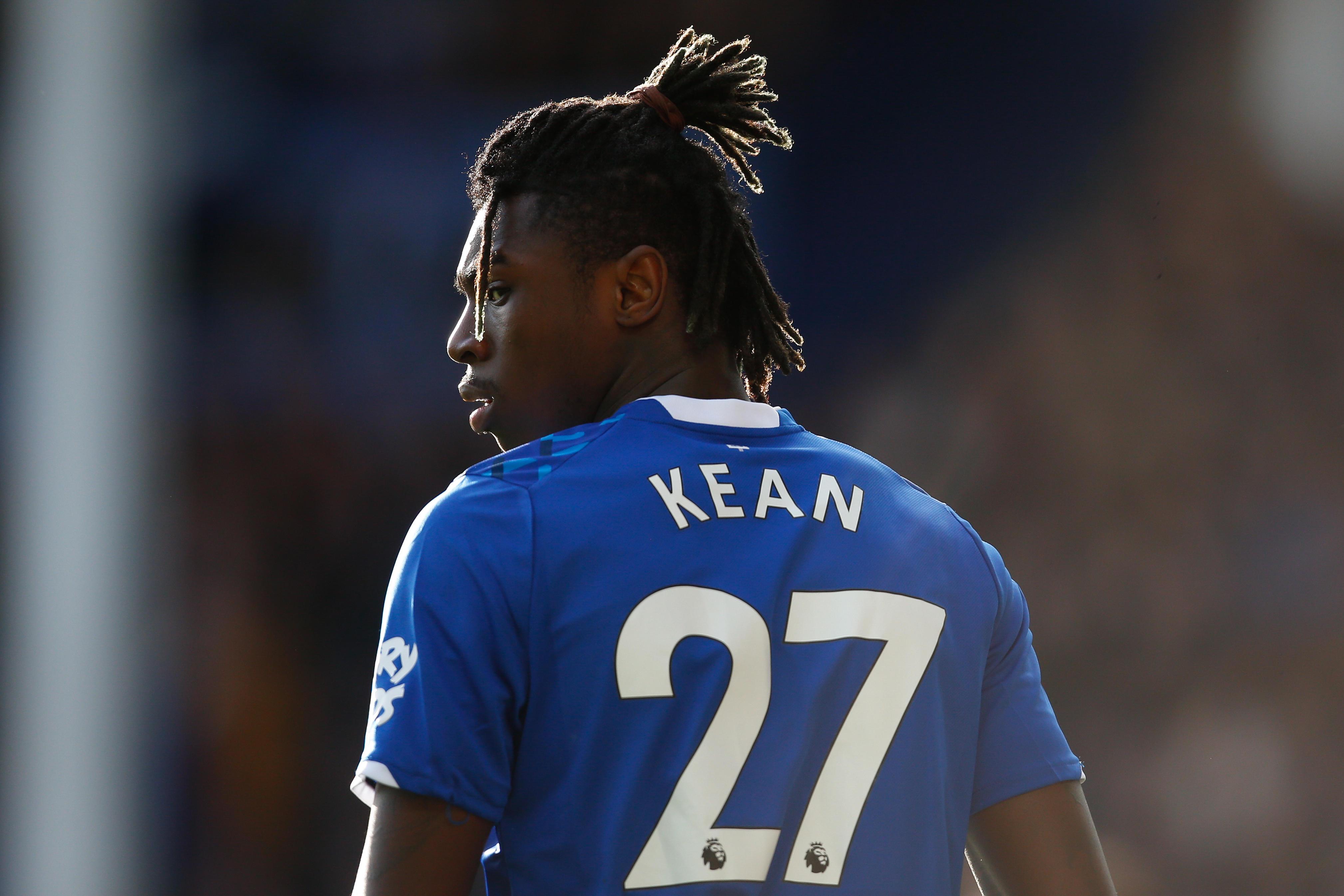 Kean không thể hiện được nhiều ở Everton