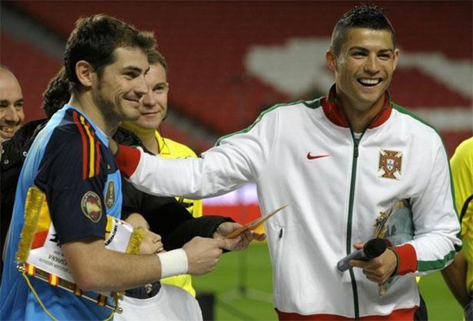 Casillas gắn bó với Real trong suốt hơn 20 năm