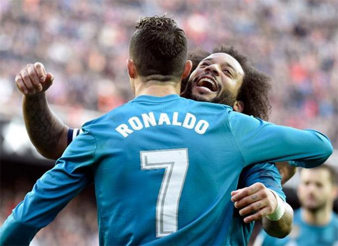 Marcelo đến giờ vẫn còn chơi cho Real Madrid