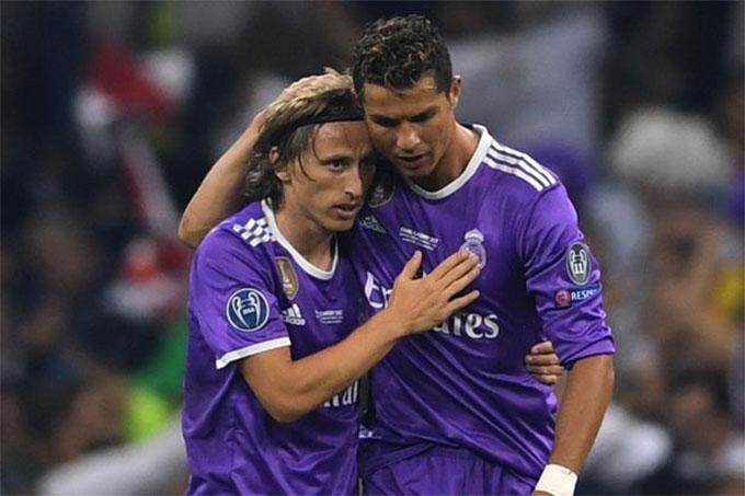 Modric là chủ nhân Quả bóng vàng 2018