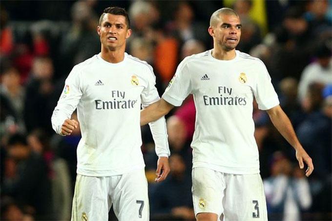 Pepe là đồng hương với Ronaldo