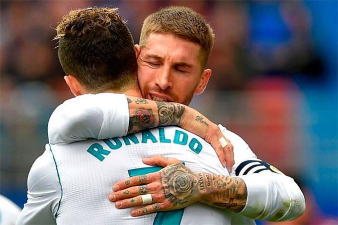 Ramos chơi được cả ở vị trí trung vệ lẫn hậu vệ phải