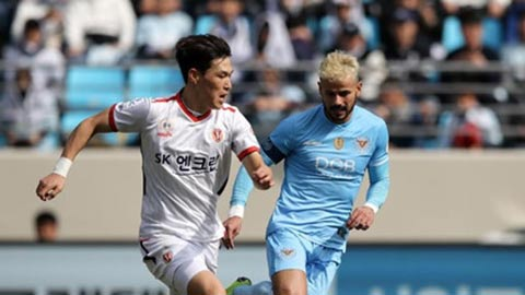 K-League bắt đầu cho phép thi đấu tập trở lại