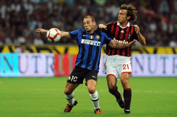 Sneijder đến Inter với mối hận Real Madrid vì bị ruồng rẫy