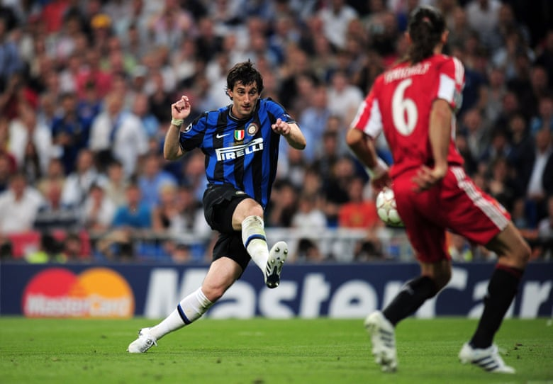 Milito đã chi những bàn thắng đem lại 3 danh hiệu cho Inter