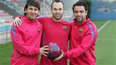 """Bằng chứng cho thấy vì sao Messi - Xavi - Iniesta là """"bộ ba huyền thoại"""""""