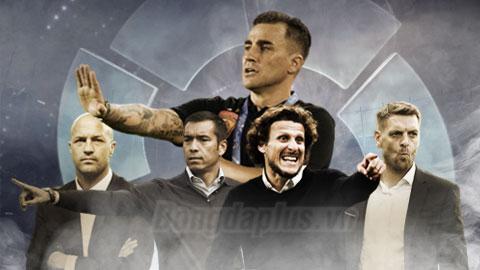 5 cựu danh thủ La Liga lận đận khi thi đấu nhưng nổi danh trong vai trò HLV