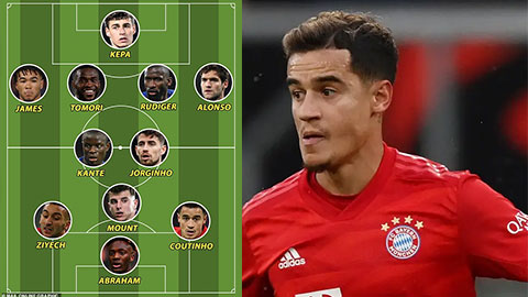Coutinho có thể đá ở đâu nếu rời Barca sang Chelsea?