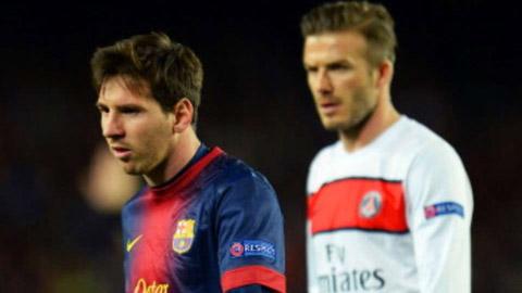 Messi chính là nguyên nhân khiến Beckham quyết định giải nghệ