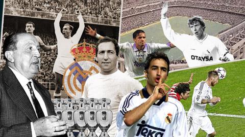 Lịch sử Real Madrid thông qua 10 khoảnh khắc