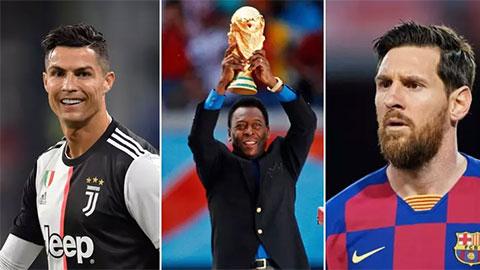 Bỏ Ronaldo và Neymar, Pele chọn Messi là cầu thủ toàn diện nhất thế giới