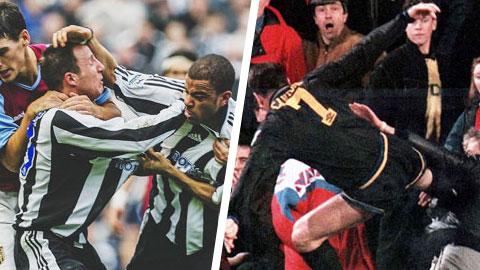 10 khoảnh khắc điên rồ nhất lịch sử Premier League