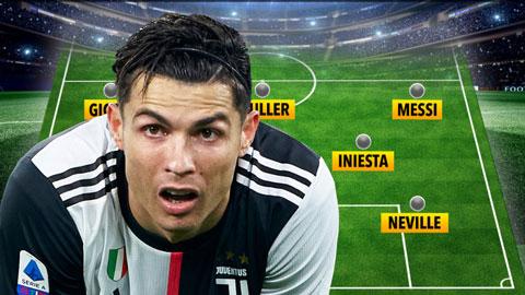 Đội hình nhiều danh hiệu nhất tại châu Âu: Messi dẫn đầu, Ronaldo không có chỗ