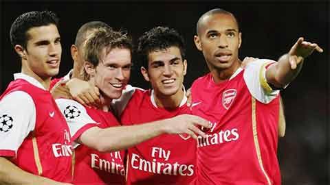 Rất nhiều người trong số này đã rời Arsenal chỉ sau năm đăng quang danh hiệu cá nhân