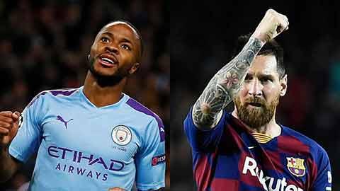 Sterling thèm khát áo đấu của Messi