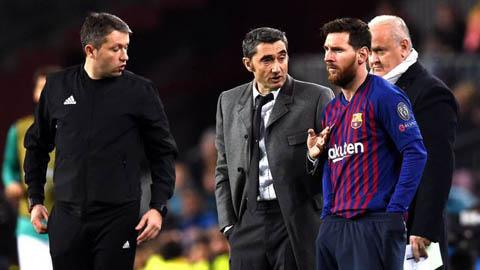 Valverde chia sẻ suy nghĩ thật về Messi khi không còn liên quan đến Barca