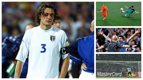 Maldini, Robben, Ballack, Higuain và những chuyên gia vấp ngã trước cửa thiên đường