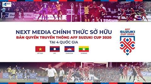 Next Media sở hữu bản quyền AFF Suzuki Cup 2020