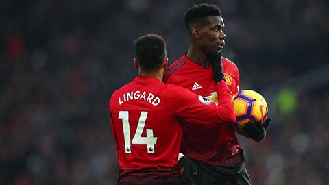 Pogba và Lingard có thể bị đem bán để dọn chỗ đón Sancho