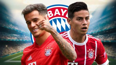 Coutinho & Rodriguez, số 10 nào hay hơn ở Bayern Munich?