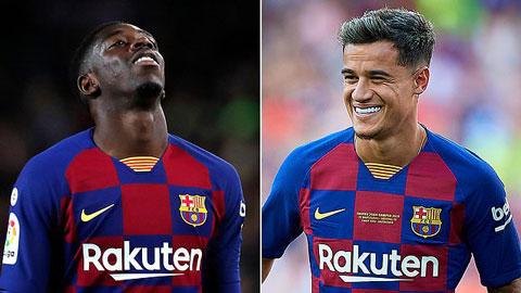 Barca dùng bộ đôi 267 triệu bảng để đổi lấy những bom tấn mới
