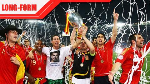Luis Aragones & câu chuyện khai phóng ĐT Tây Ban Nha tại EURO 2008
