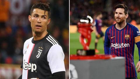 Messi gấp đôi Ronaldo về số lần xuất sắc nhất trận trong thập kỷ qua