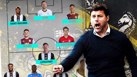 Newcastle sẽ có đội hình mạnh như thế nào dưới thời Pochettino?