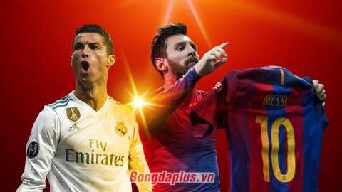 Đối đầu trực tiếp Ronaldo vs Messi: Ai hơn ai?