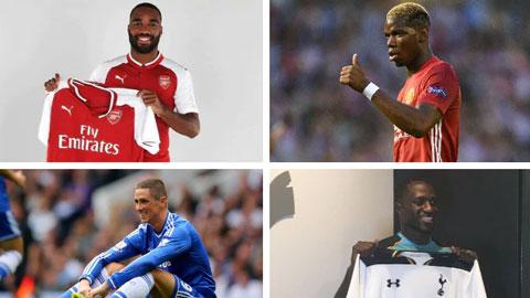 Xếp hạng 25 chữ ký đắt giá nhất lịch sử Premier League từ tốt nhất tới tệ nhất