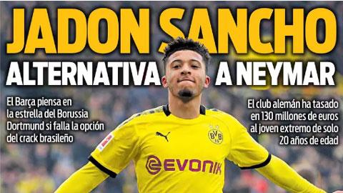 Chán ngán Neymar, Barca quay sang mục tiêu số 1 của M.U