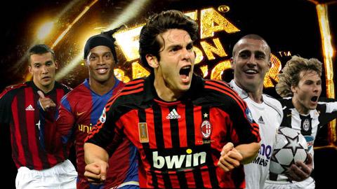 5 cầu thủ từng giành Quả bóng Vàng trước thời đại thống trị của Ronaldo - Messi