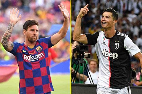 Messi và Ronaldo được hưởng lợi khá nhiều từ bóng đá hiện đại.
