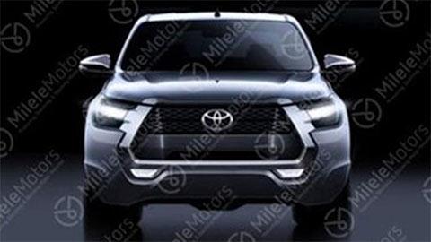 Toyota Hilux 2021 xuất hiện với thiết kế hầm hố hơn, đe dọa Ford Ranger, Mazda BT-50