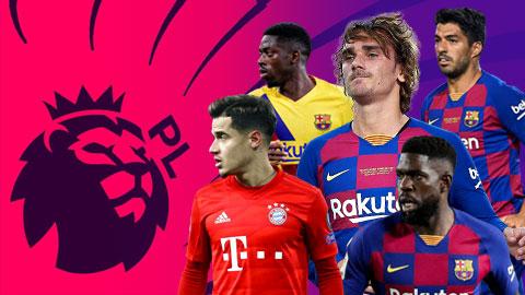 """Premier League """"xâu xé"""" 9 ngôi sao của Barca trong Hè này"""