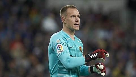 Ter Stegen ngưng đàm phán gia hạn với Barca
