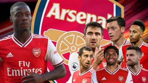 Vì Pepe, Arsenal có thể phải bán 6 cầu thủ mùa Hè này