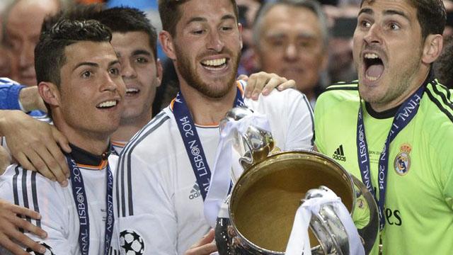 Ronaldo lần đầu vô địch Champions League cùng Real