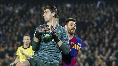 Thủ môn Real chỉ rõ lý do Barca không thể vô địch nếu La Liga bị hủy vì Covid-19
