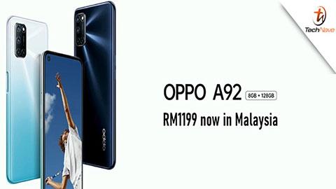 Oppo A92 ra mắt với Snap 665, 8GB RAM, pin 5000mAh, giá rẻ bất ngờ