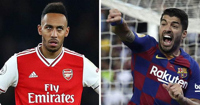 Aubameyang và Suarez sẽ đổi chỗ cho nhau?