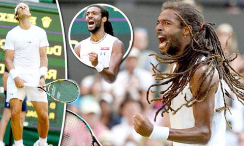 Dustin Brown đã hạ gục Nadal đến 2 lần nhờ lối đánh hoang dã như chính cuộc sống của anh