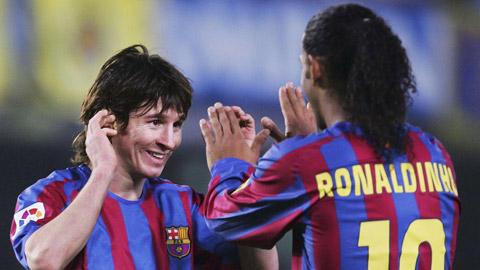 """""""Ronaldinho hơn đứt Messi, lối chơi khiến Chúa cũng rung động"""""""