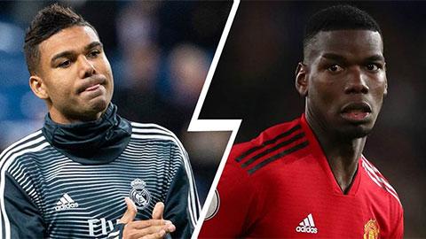 Nếu đến Real, Pogba cũng chẳng thể đe dọa vị trí của Casemiro