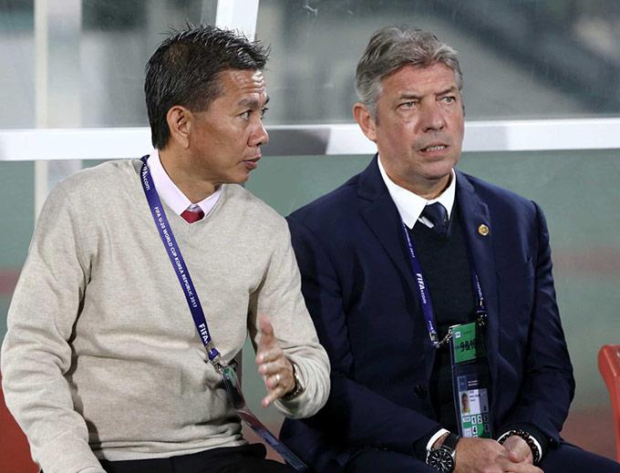 Ông Gede và HLV Hoàng Anh Tuấn từng là cặp bài trùng của U18 và U19 Việt Nam