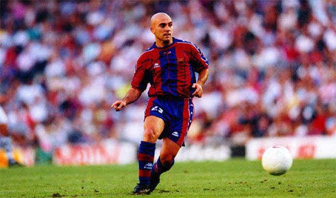 De la Pena từng là hy vọng của Barca lẫn bóng đá Tây Ban Nha