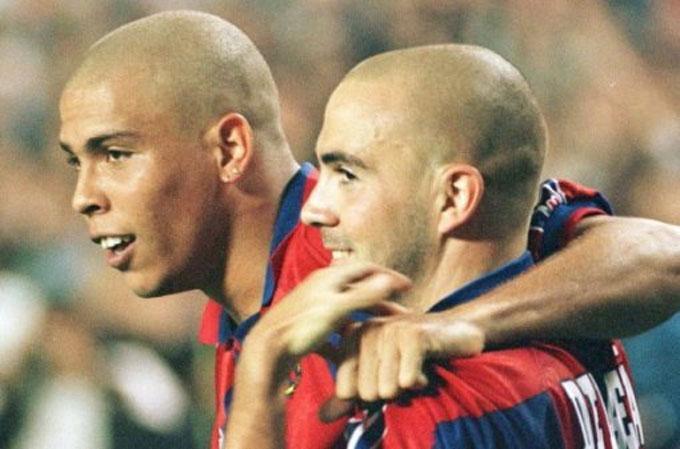 Ronaldo và De la Pena là nỗi ám ảnh một thời của các hàng phòng ngự tại La Liga