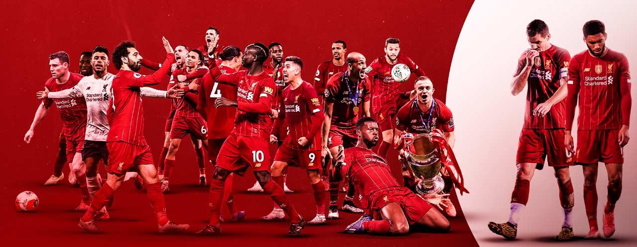 16 trên 18 cầu thủ đá chính đã ghi bàn cho Liverpool ở mùa này
