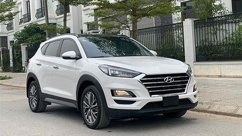 Hyundai Tucson bản máy dầu giảm giá sốc, đè Honda CR-V, Mazda CX-5